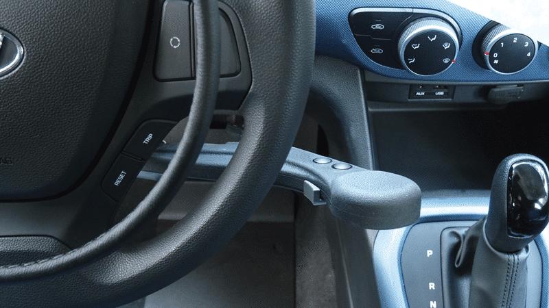 Aide à la conduite PMR : accélérateur par cercle sur volant
