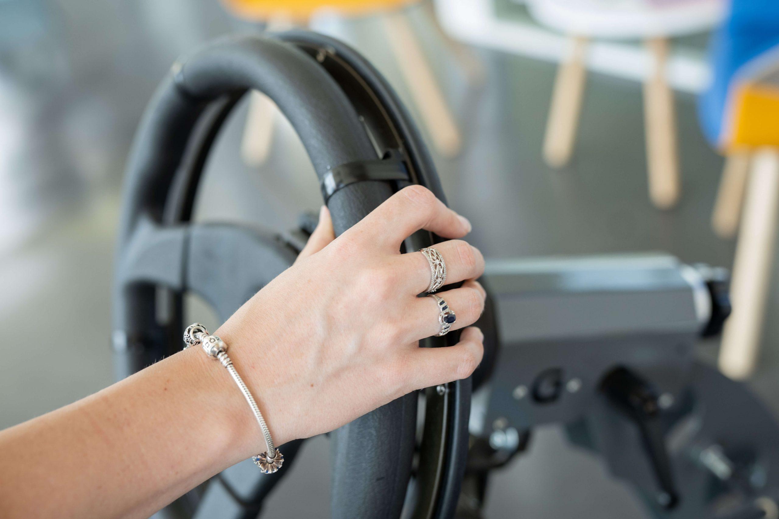 Aide à la conduite PMR : Accélérateur circulaire Roma